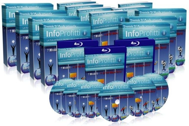 InfoProfitti: imparare a creare e vendere Infoprodotti su Internet