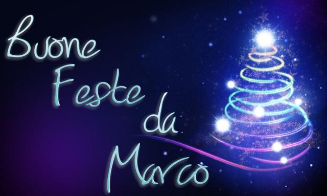Buone Feste e buon 2013