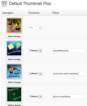plugin per inserire le immagini in evidenza