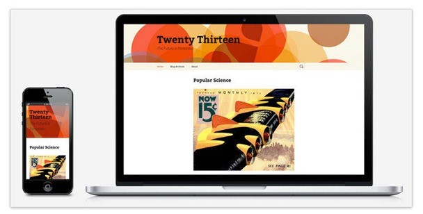 WordPres Tema Twenty Thirteen