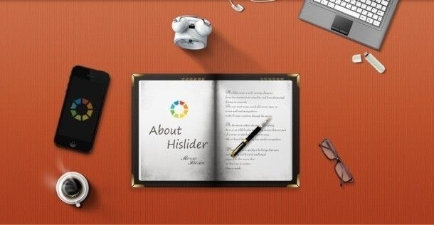 creare slideshow con HiSlider